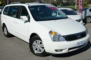 2013 Kia Grand Carnival VQ MY13 SI Light White 6 Speed Sports Automatic Wagon Phillip Woden Valley Preview
