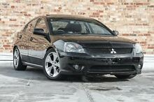 2005 Mitsubishi 380 DB GT Black 5 Speed Sports Automatic Sedan North Melbourne Melbourne City Preview