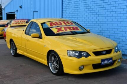 2005 Ford Falcon BA Mk II XR8 Magnet Ute Super Cab Yellow 4 Speed Sports Automatic Utility Enfield Port Adelaide Area Preview