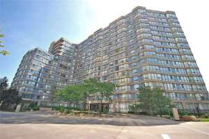 Bright Spacious 2 Br + Den Unit Located In Mississauga
