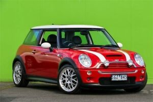 2003 Mini Hatch R53 MY03 Cooper S Red 6 Speed Manual Hatchback Ringwood East Maroondah Area Preview