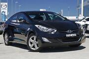 2012 Hyundai Elantra MD2 Active Black 6 Speed Sports Automatic Sedan Gymea Sutherland Area Preview