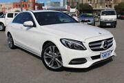2015 Mercedes-Benz C200 W205 7G-Tronic + White 7 Speed Sports Automatic Sedan Northbridge Perth City Area Preview