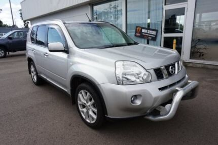 2010 Nissan X-Trail T31 MY10 TL Silver 6 Speed Manual Wagon
