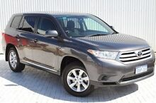 2012 Toyota Kluger  Grey Sports Automatic Wagon Embleton Bayswater Area Preview