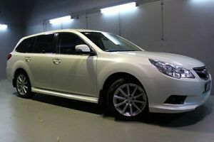 2012 Subaru Liberty B5 MY12 2.5i Lineartronic AWD White 6 Speed Constant Variable Wagon Invermay Launceston Area Preview