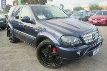 2001 Mercedes-Benz ML55 W163 AMG Blue 5 Speed Sports Automatic Wagon Wangara Wanneroo Area Preview