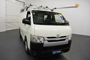 2015 Toyota Hiace KDH201R MY15 LWB White 4 Speed Automatic Van Moorabbin Kingston Area Preview