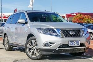 2016 Nissan Pathfinder R52 MY17 Ti X-tronic 2WD Silver 1 Speed Constant Variable Wagon Victoria Park Victoria Park Area Preview