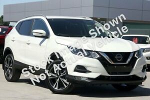 2019 Nissan Qashqai J11 Series 2 ST-L White Constant Variable Midland Swan Area Preview
