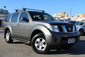 2007 Nissan Pathfinder R51 MY07 ST Grey 6 Speed Manual Wagon Northbridge Perth City Area Preview