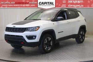 2017 Jeep Compass Trailhawk 4WD*Leather*Sunroof*Nav*4x4*