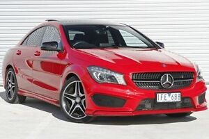 2015 Mercedes-Benz CLA200  Red Sports Automatic Dual Clutch Coupe Ringwood East Maroondah Area Preview