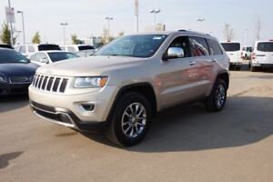 2014 Jeep Grand Cherokee 4X4 LIMITED Accident Free,  Navigation