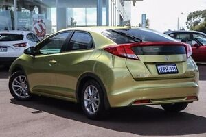 2013 Honda Civic 9th Gen MY13 VTi-S Green 5 Speed Sports Automatic Hatchback East Rockingham Rockingham Area Preview