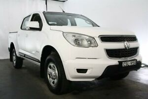 2014 Holden Colorado RG MY14 LX Crew Cab White 6 Speed Sports Automatic Utility Maryville Newcastle Area Preview