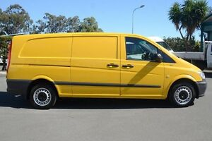 2012 Mercedes-Benz Vito 639 MY11 113CDI LWB Sunny Yellow 6 Speed Manual Van Acacia Ridge Brisbane South West Preview