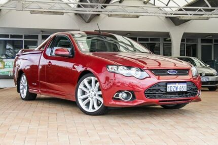 2012 Ford Falcon FG MkII XR6 Ute Super Cab Turbo Red 6 Speed Sports Automatic Utility