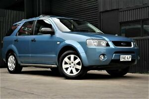 2006 Ford Territory SY SR Blue 4 Speed Sports Automatic Wagon Underdale West Torrens Area Preview