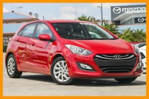 2014 Hyundai i30 GD2 Active Red/Black 6 Speed Sports Automatic Hatchback Hillcrest Logan Area Preview