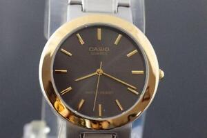 TWO TONE CASIO WITH EXPANSION BAND BRAND NEW IN BOX FOR SALE