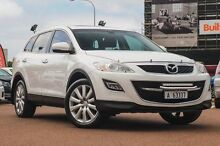 2010 Mazda CX-9 TB10A3 MY10 Luxury White 6 Speed Sports Automatic Wagon Fremantle Fremantle Area Preview