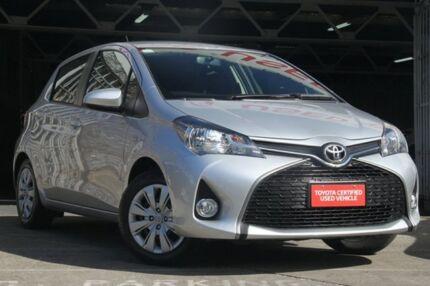 2015 Toyota Yaris NCP131R SX Glacier 4 Speed Automatic Hatchback