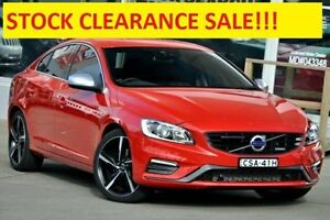 2013 Volvo S60 F Series MY14 T5 PwrShift R-Design Red 6 Speed Sports Automatic Dual Clutch Sedan Dee Why Manly Area Preview