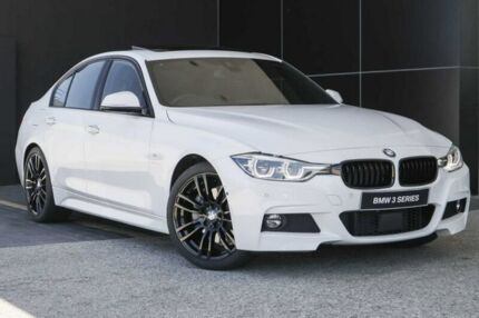 2018 BMW 340i F30 LCI M Sport White 8 Speed Sports Automatic Sedan Wangara Wanneroo Area Preview