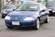 2000 Ford Falcon AU Blue 4 Speed Automatic Sedan Heatherton Kingston Area Preview