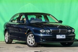 2002 Jaguar X-Type X400 SE Blue 5 Speed Automatic Sedan Ringwood East Maroondah Area Preview