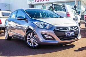 2014 Hyundai i30 GD MY14 Elite Silver 6 Speed Sports Automatic Hatchback Westminster Stirling Area Preview