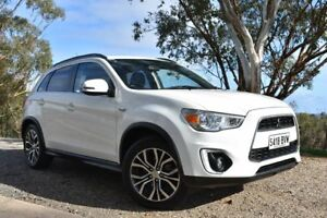 2016 Mitsubishi ASX XB MY15.5 LS 2WD White 6 Speed Constant Variable Wagon St Marys Mitcham Area Preview