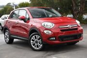 2016 Fiat 500X 334 Pop Star DDCT Passion Red 6 Speed Sports Automatic Dual Clutch Wagon Mornington Mornington Peninsula Preview
