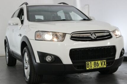 2011 Holden Captiva CG MY10 CX AWD White 5 Speed Sports Automatic Wagon Maryville Newcastle Area Preview