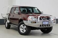 2011 Nissan Navara D22 Series 5 ST-R (4x4) Burgundy 5 Speed Manual Dual Cab Pick-up Bentley Canning Area Preview