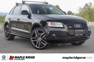 2017 Audi SQ5 3.0T Dynamic Edition LOW KM, NO ACCIDENTS, LOCAL C