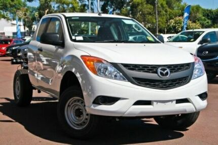 2015 Mazda BT-50 B32Q XT Freestyle Cool White 6 Speed Automatic Cab Chassis Cannington Canning Area Preview