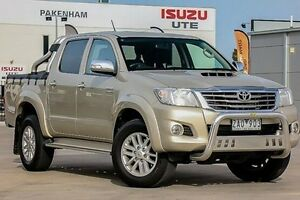 2012 Toyota Hilux KUN26R MY12 SR5 Double Cab Brown 4 Speed Automatic Utility Pakenham Cardinia Area Preview