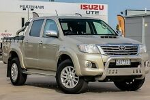 2012 Toyota Hilux KUN26R MY12 SR5 Double Cab Gold 4 Speed Automatic Utility Pakenham Cardinia Area Preview
