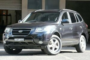 2008 Hyundai Santa Fe CM MY07 Upgrade SLX (FWD) Grey 5 Speed Automatic Wagon Brookvale Manly Area Preview