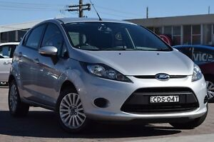 2011 Ford Fiesta WT LX Silver 6 Speed Automatic Hatchback Waitara Hornsby Area Preview