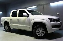 2013 Volkswagen Amarok 2H MY13 TDI400 4Mot White 6 Speed Manual Utility Launceston Launceston Area Preview