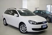 2010 Volkswagen Golf VI MY11 90TSI DSG Trendline White 7 Speed Sports Automatic Dual Clutch Wagon Myaree Melville Area Preview