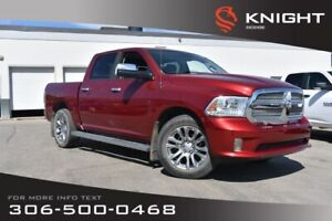 2014 Ram 1500 Longhorn Limited | Leather | Low KMs | Heated & Co
