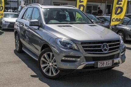 2012 Mercedes-Benz ML350 W166 BlueTEC 7G-Tronic + Tenorite Grey 7 Speed Sports Automatic Wagon Aspley Brisbane North East Preview