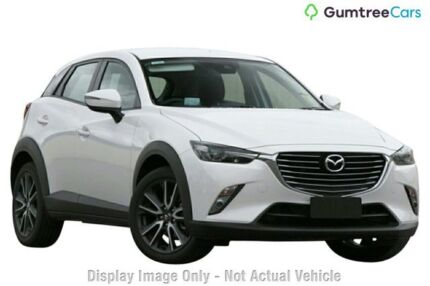 2018 Mazda CX-3 DK2W7A sTouring SKYACTIV-Drive Jet Black 6 Speed Sports Automatic Wagon