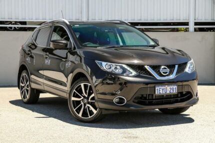 2016 Nissan Qashqai J11 TI Black Continuous Variable Wagon Cannington Canning Area Preview