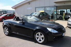 MERCEDES-BENZ SLK 3.0 SLK280 2d AUTO 231 BHP - VIEW 360 SPIN ON WEBS (black) 2008