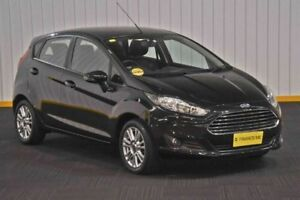 2013 Ford Fiesta WZ Trend PwrShift Black 6 Speed Sports Automatic Dual Clutch Hatchback